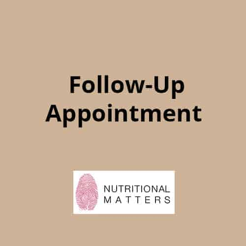 Follow-up appointment