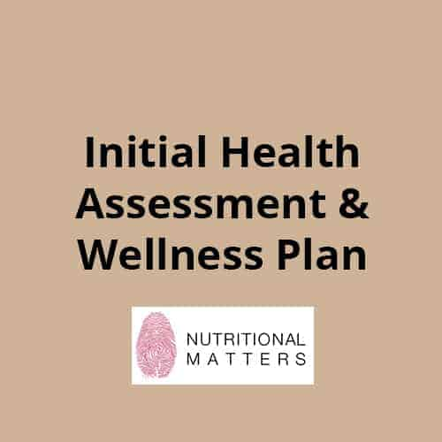 Initial Health Assessment & Wellness program